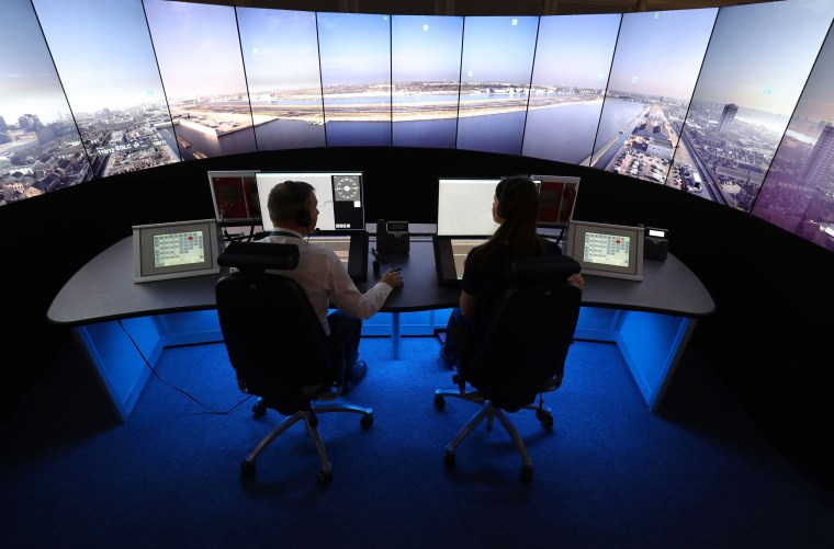 Image: NATS digital air traffic control tower