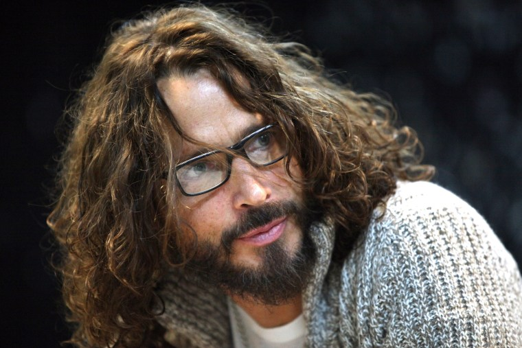 Image: Chris Cornell attends Back To Black Friday