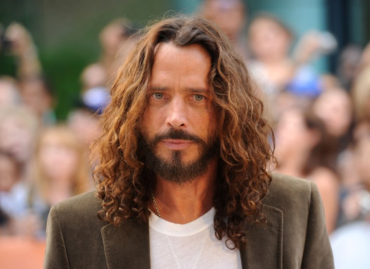 "Image: Musician/actor Chris Cornell  arrives at the premiere of ""Machine Gun Preacher\"""