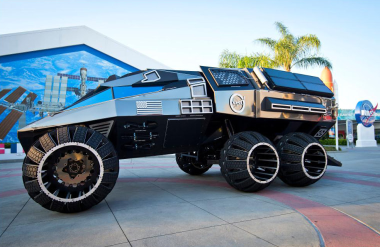 Off Roading Near Me >> This Mars Rover Concept is Ready to Go Off-Roading Through Red Dust