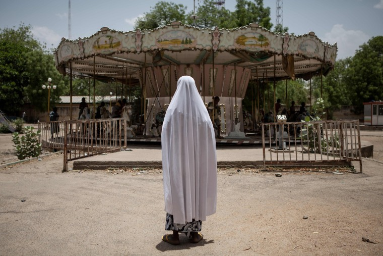 Image: TOPSHOT-NIGERIA-UNREST-BOKOHARAM-EDUCATION-AID