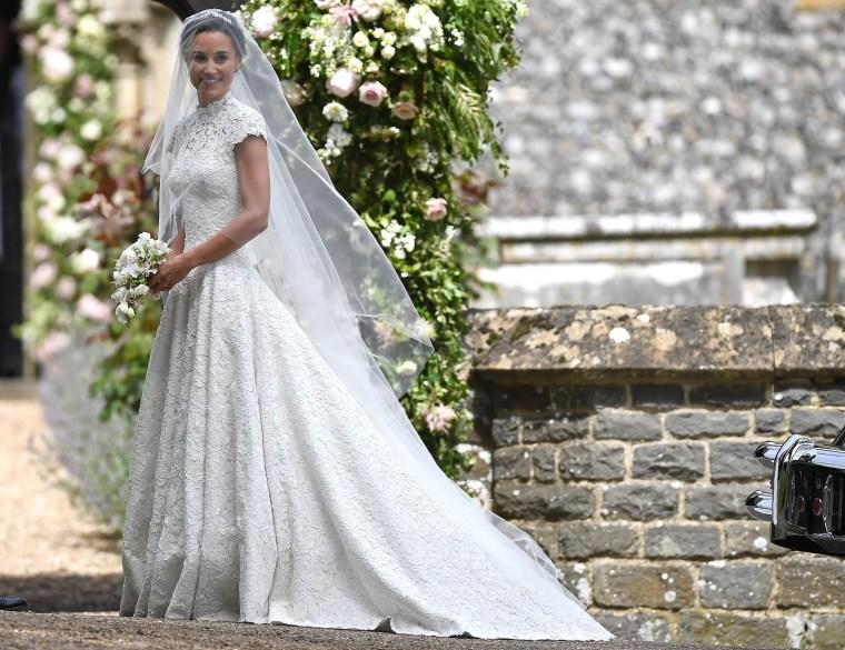 Image: Wedding Of Pippa Middleton and James Matthews