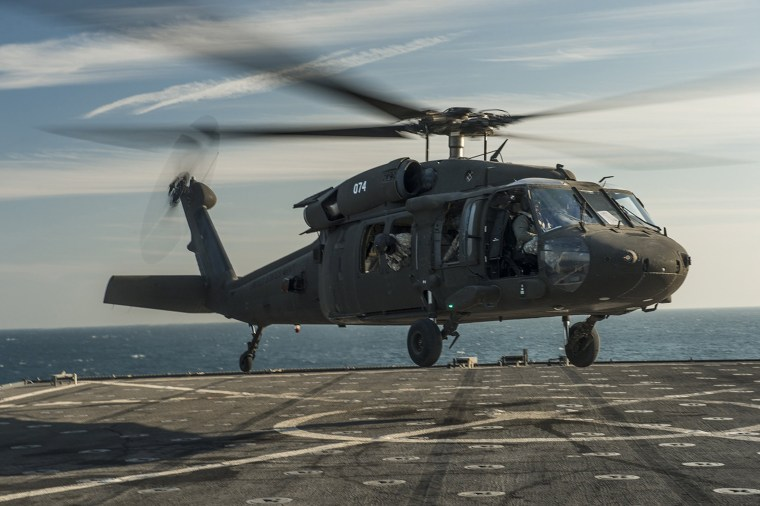 Image: U.S. Army Black Hawk helicopters