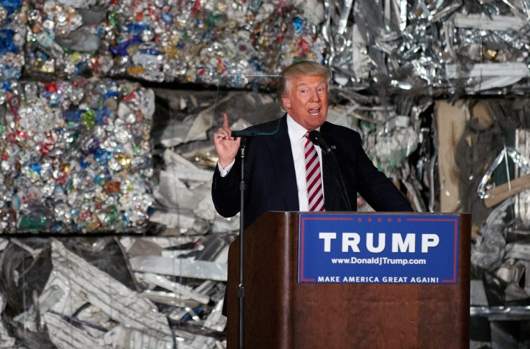 Image: Donald Trump Delivers Trade Policy Address In Pennsylvania