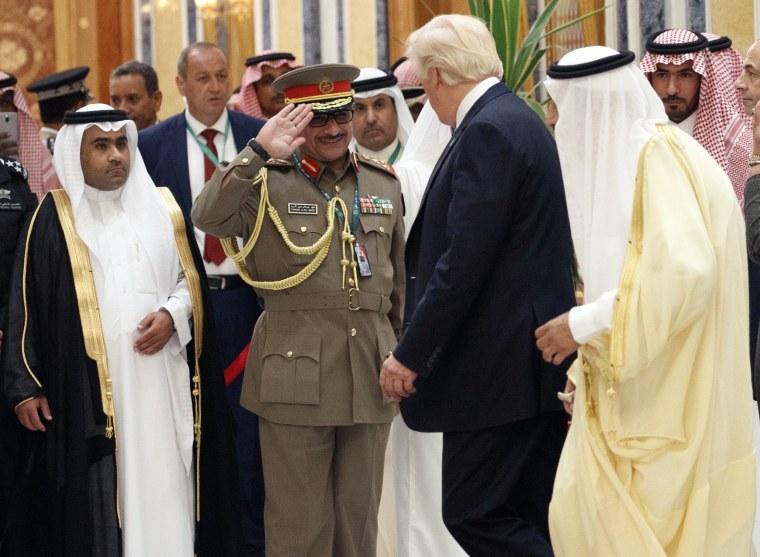 Image: Donald Trump, King Salman