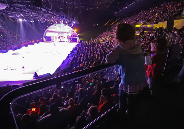 Image: Ringling Bros Barnum and Bailey Circus Holds Final Show