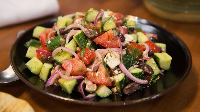 Catherine de Orio's village salad
