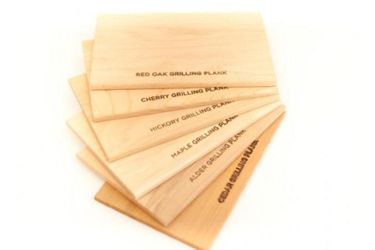 Six Medium Grilling Planks