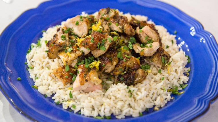 Chopped Grilled Chicken Thighs