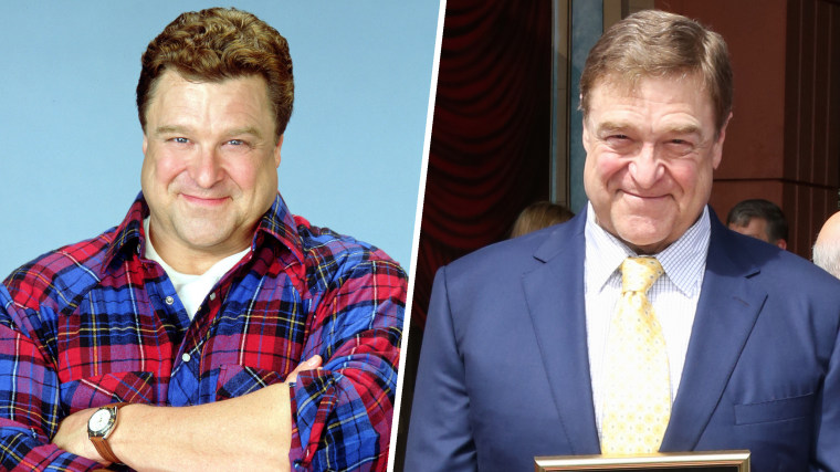 John Goodman on Roseanne and  honored with a star on The Hollywood Walk of Fame on March 10, 2017 in Hollywood, California.