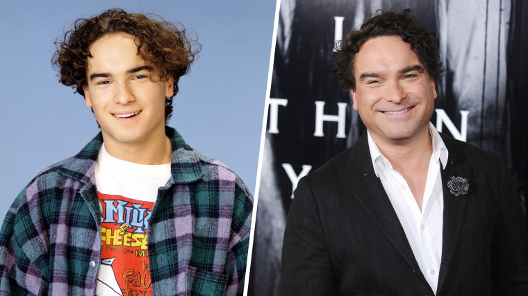 "ROSEANNE, Johnny Galecki, Season 6, 1988-97, Johnny Galecki attends a screening of ""Rings"" at Regal LA Live Stadium 14 on February 2, 2017 in Los Angeles, California."