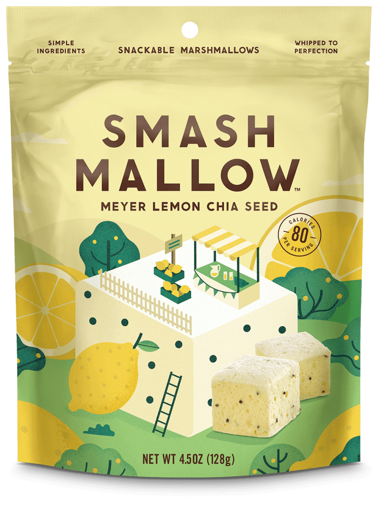 Meyer Lemon Chia Smashmallow