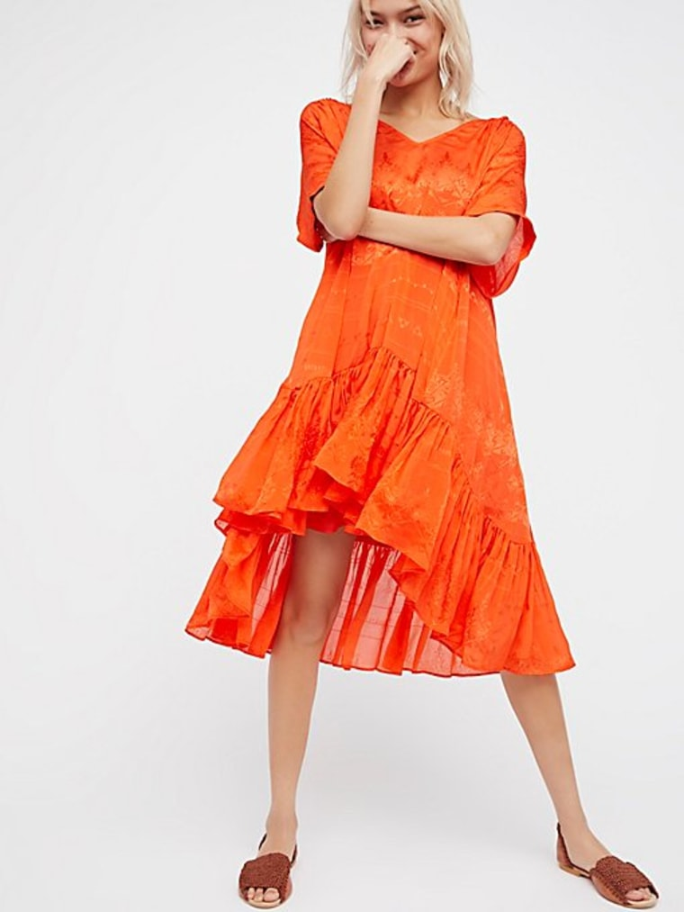 Float Away Swing Dress