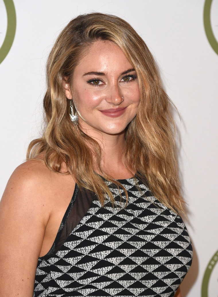 Shailene Woodley's hair is blond — see the new look!