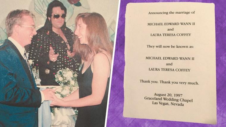 Laura Coffey's wedding photo