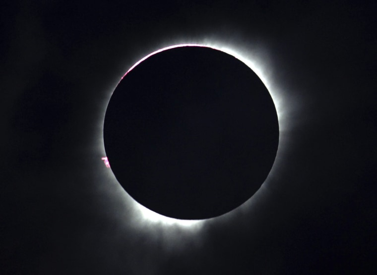 Image: Total Solar Eclipse in Ternate, Maluku Islands, Indonesia