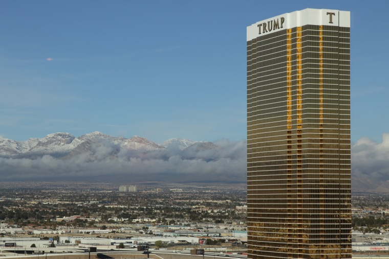 The Trump Hotel is the tallest occupied building in Las Vegas.