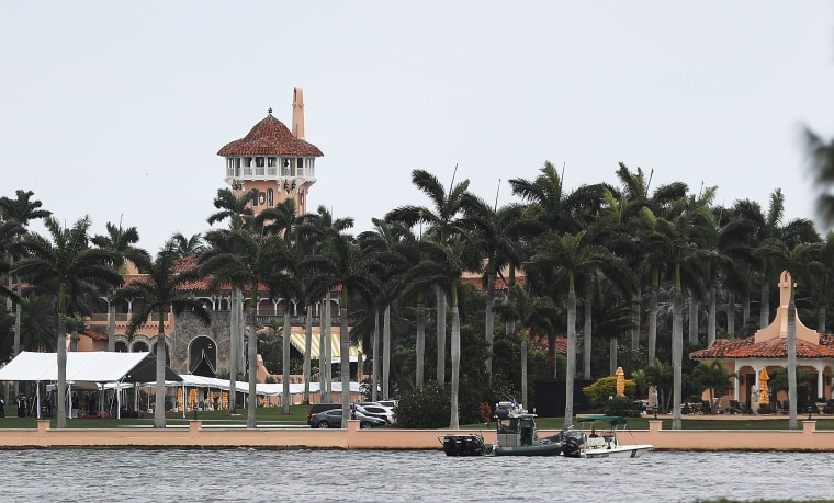 Image: Donald Trump's Mar-a-Lago resort in West Palm Beach, Florida