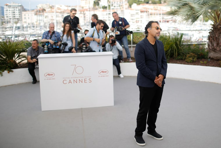 Image: 70th Cannes Film Festival - Photocall for the installation Carne y Arena presented as part of virtual reality event