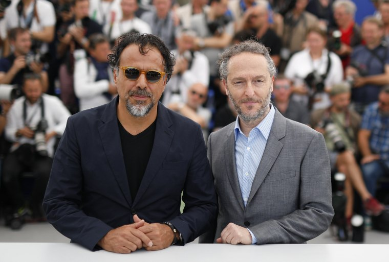 Image: Carne y Arena Photocall - 70th Cannes Film Festival