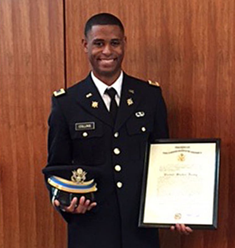 23-year-old Richard Collins was a senior at Bowie State University and was set to graduate on may 23. He was recently commissioned as a second lieutenant in the U.S. Army.