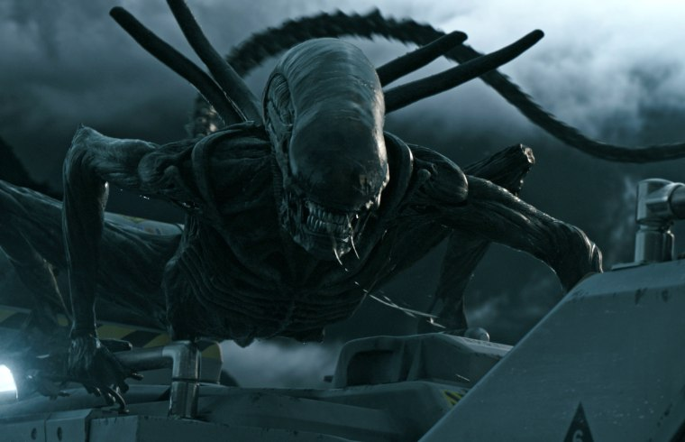 "The protomorph welcomes humans to its planet in ""Alien: Covenant."""