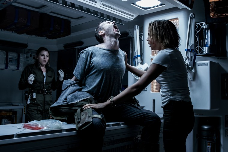 "The infamous chestburster is about to make its debut in ""Alien: Covenant"""