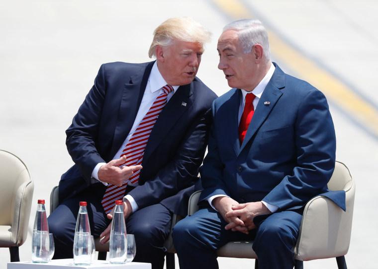 Image: TOPSHOT-ISRAEL-US-TRUMP-DIPLOMACY