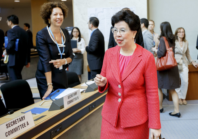 Image: Margaret Chan, Director General of the World Health Organization
