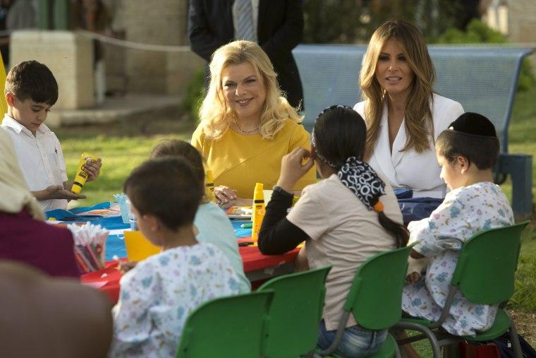 Image: US delegation visits Israel