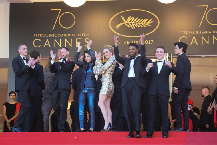 """""""120 Battements Par Minutes"""" (""""120 Beats Per Minute"""") screening during the 70th annual Cannes Film Festival at Palais des Festivals on May 20, 2017 in Cannes, France."""