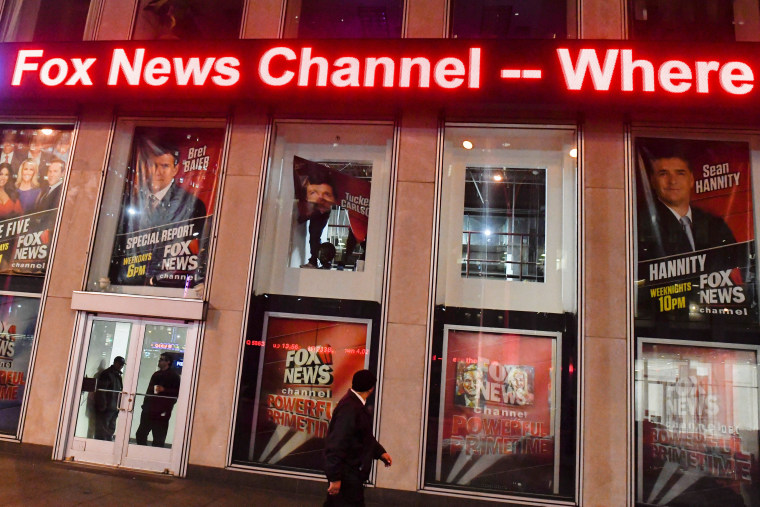 Image: Empty window is seen after Bill O'Reilly poster is removed from Fox News Channel offices in Manhattan, New York