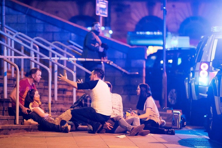 Image: Multiple Fatalities After Explosions At Manchester Arena