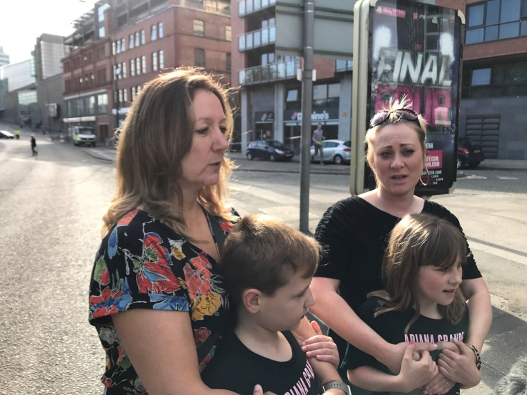 Image: Eyewitnesses to the Manchester Arena bomb attack