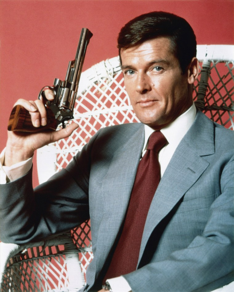 Image: Roger Moore in 1973