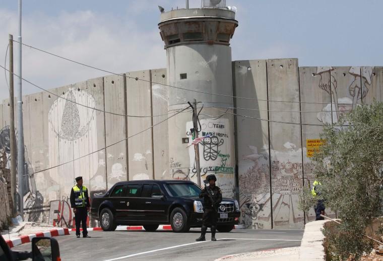 Image: PALESTINIAN-US-DIPLOMACY-TRUMP