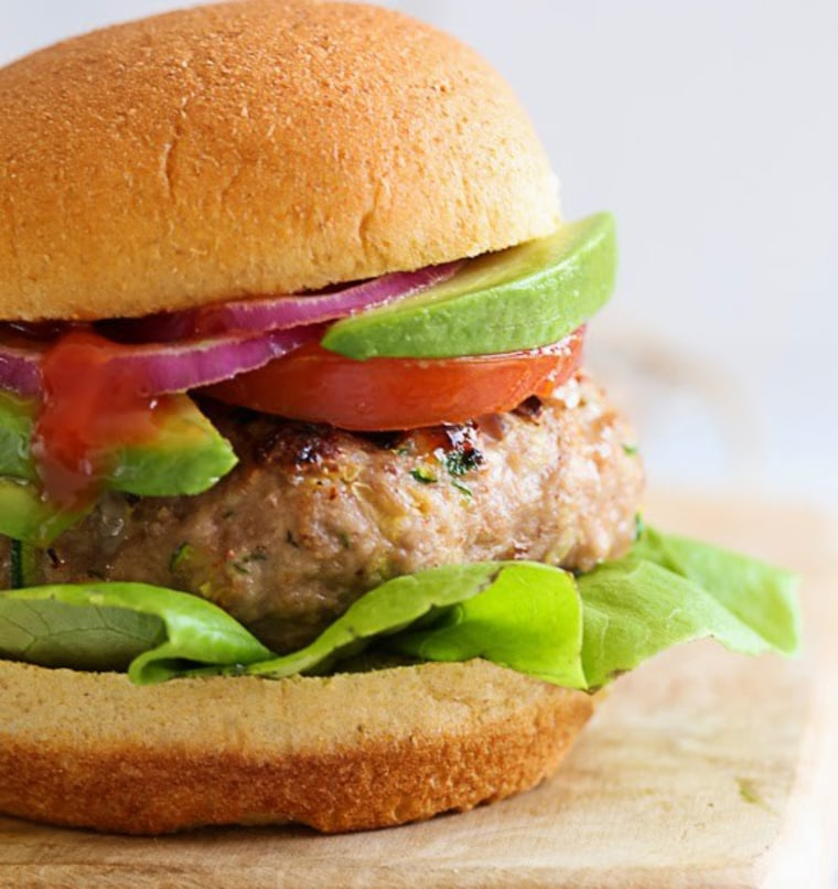 Turkey Burgers with Zucchini