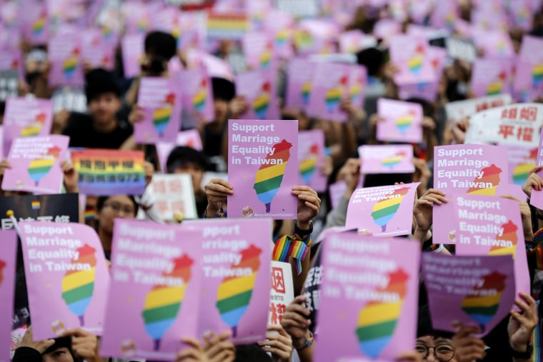 Image: Taiwan's constitutional court to announce same-sex marriage ruling on 24 May
