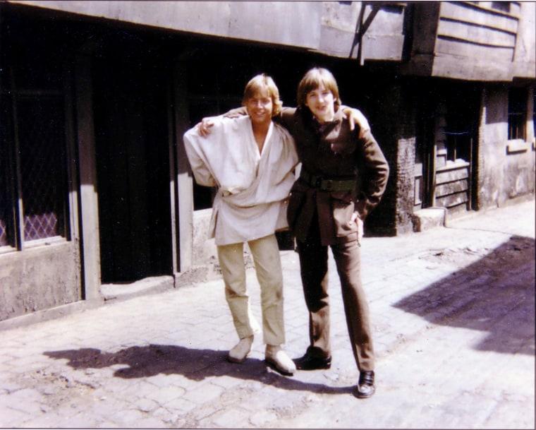 Image: Mark Hamill (L) and Derek Lyons