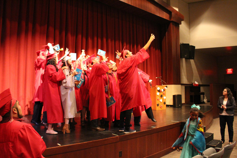 Students who participated in Oklahoma City Public School's commencement for English language learner students will also participate in a full graduation ceremony.
