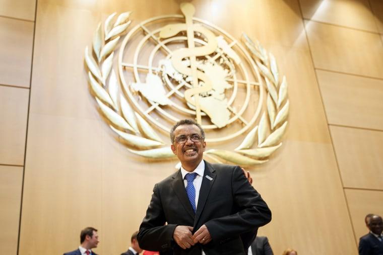 Ethiopian Wins Race to Head World Health Organization