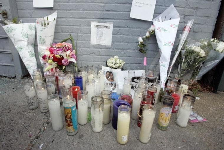 Memorial To Shooting Victim Sean Bell