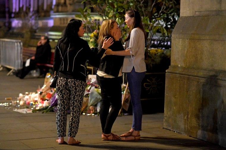 Image: Manchester Vigil