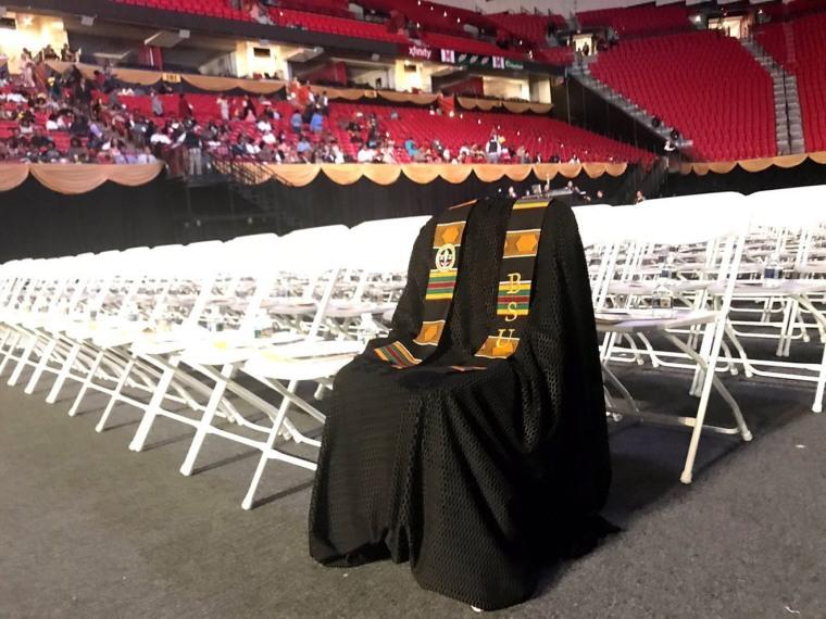 Image: Richard Collins Graduation Robe