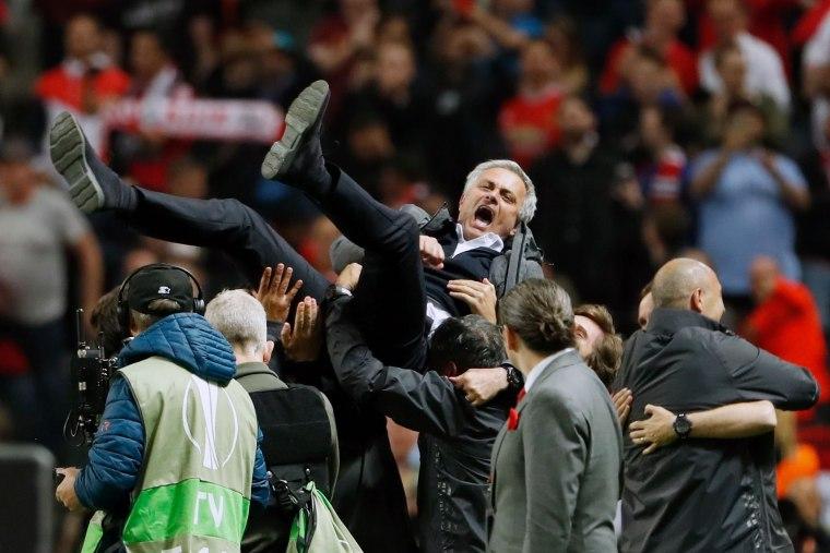 Image: Manchester United manager Jose Mourinho