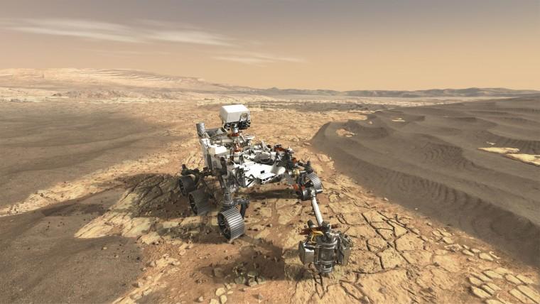Mars 2020 Rover Concept Art