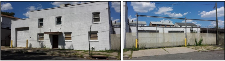 Photos of the current state of a property purchased the Bayonne Muslims congregation to build a mosque taken from court documents.