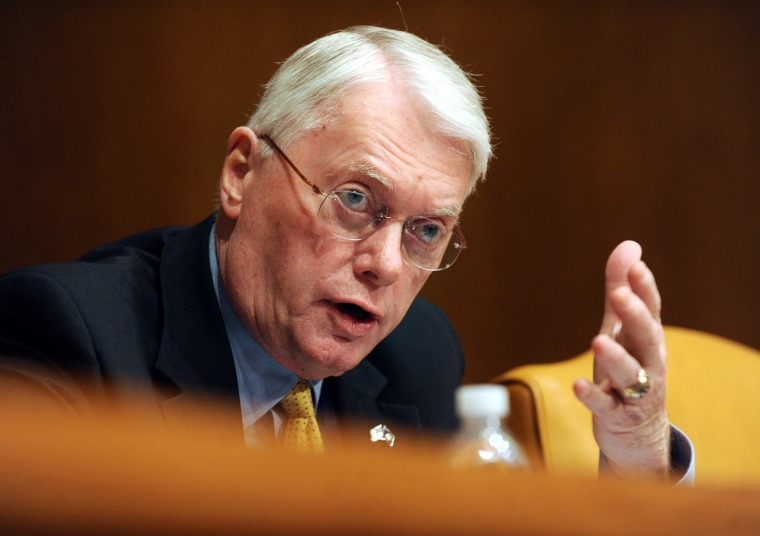 Image: US Senator Jim Bunning died at the age of 85