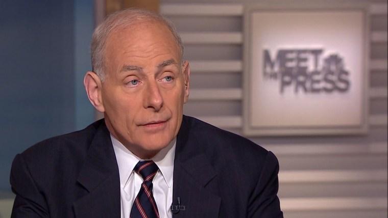"""Image: Sec. Kelly said intelligence leaks were \""""unacceptable\"""""""