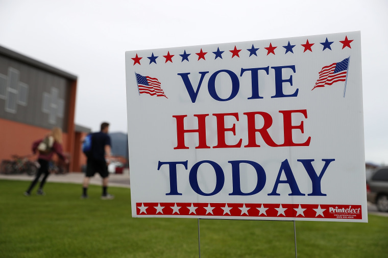 Image: Voters In Montana Head To The Polls In Special Congressional Election